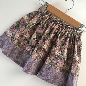 Other - Girl's Skirt - Size 2T - Mauve Floral and Paisley